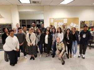 Rancho Criminal Justice Program Visits Metro Command Center