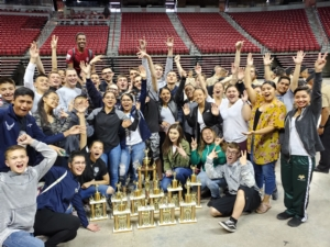 Rancho JROTC Racks Up Recognition at District Drill Meet