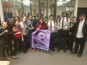 Rancho Speech and Debate Scores Well at County Tournament